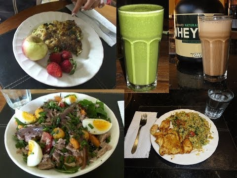 What I eat in a day: Paleo diet #2