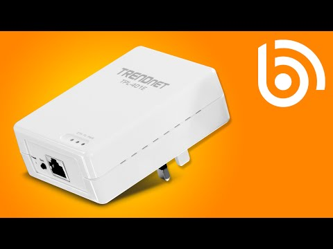 TRENDnet TPL-401E HomePlug Adapter