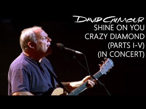 David Gilmour - Shine On You Crazy Diamond (Parts I–V) (In Concert)