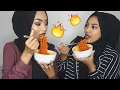 The spicy ramen challenge 🔥| Sabina Hannan