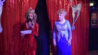 Miss Gay Heart of PA America 2017 Mona Moorhead On Stage Question