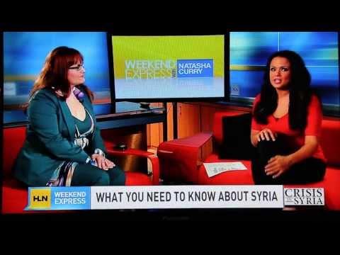 Professor Kosal and Weekend Express host Natasha Curry
