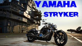 4. 2014 Yamaha Stryker demo ride