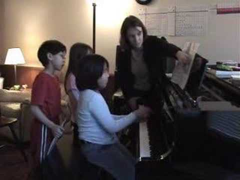 Group Piano Teaching Ideas