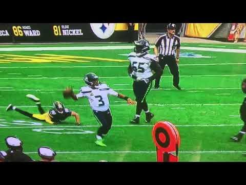 Bad calls - Seahawks @ Steelers 9-15-19