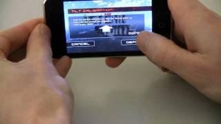 Jet Car Stunts Tilt Calibration