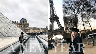 A New Year in Paris | IPHONE X CINEMATIC TRAVEL VLOG