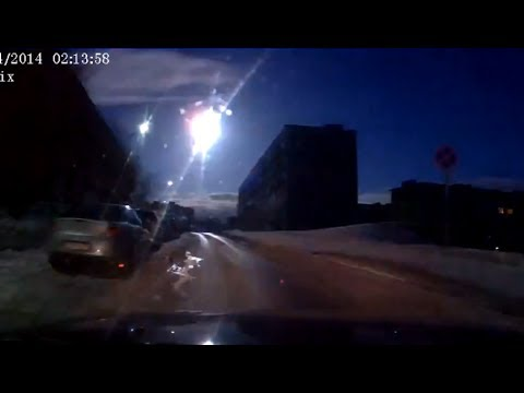 Meteor-like object over Russia%27s Murmansk caught on dash-cams