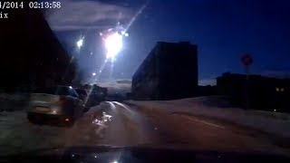 Meteor-like object over Russia's Murmansk caught on dash-cams