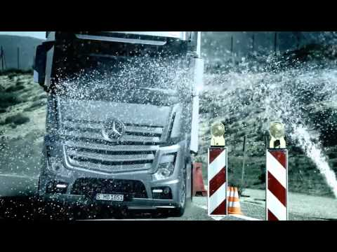 Official Video! New Mercedes-Benz Actros 2011 [English version, HQ]