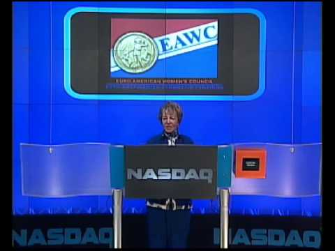 NASDAQ CLOSING BELL 13 01 2009 EURO - AMERICAN WOMEN'S COUNCIL