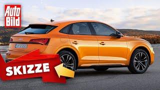Audi Q5 Sportback (2020): Neuvorstellung - Skizze - Preis - SUV-Coupé by Auto Bild