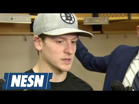 Video: Torey Krug on the Bruins 4-3 loss to the Flyers