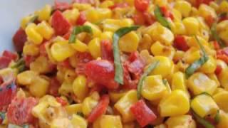 Corn Salad With Creamy Italian Dressing