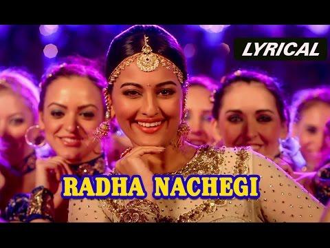 full song - Check out 'Radha Nachegi' full song with lyrics from Tevar. Song: Radha Nachegi Singers: Ritu Pathak, Shabab Sabri & Danish Sabri Music: Sajid-Wajid Lyrics: Kausar Munir Additional Lyrics...