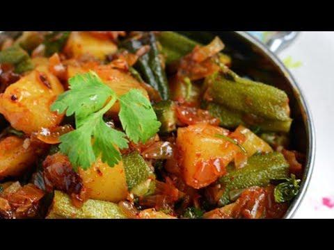 (Chipley Bhanta ra Aloo ko Tarkari I Okra & Potato Curry...13 min.)