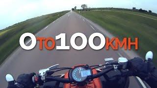 8. 0 to 100kmh | Yamaha Raptor 700r | GoPro