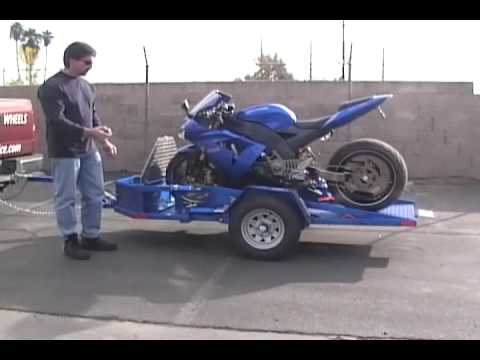 TRP Corp Hydraulic Motorcycle Trailers.wmv