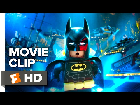 The LEGO Batman Movie CLIP - It's the Batcave (2017) - Will Arnett Movie