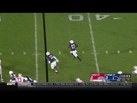 Garrett Taylor's Interception vs. Ohio State | Big Ten Football