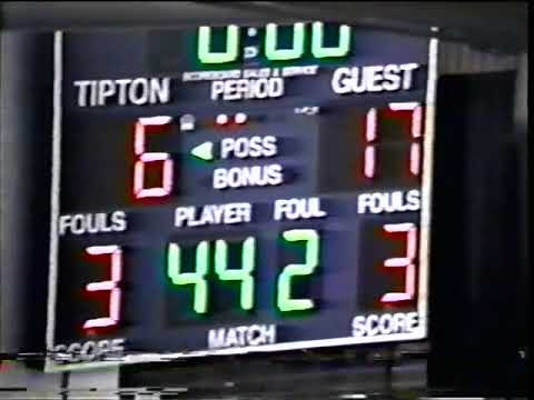 Kokomo Boys Basketball Vs  Tipton 1997