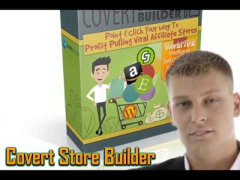 Covert Store Builder Theme the ultimate affiliate store builder
