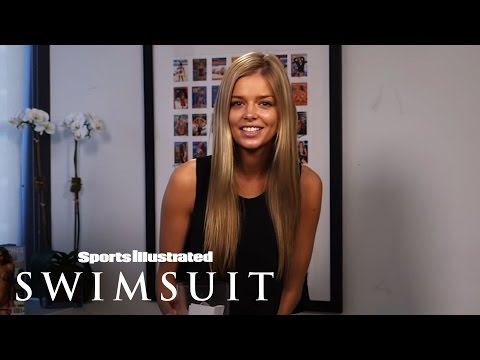 Danielle Knudson featured in Sports Illustrated's Swimsuit Issue casting video blog!!