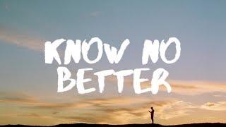 Video Major Lazer – Know No Better (Lyrics) ft. Camila Cabello, Travis Scott, Quavo download in MP3, 3GP, MP4, WEBM, AVI, FLV January 2017