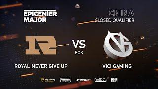 Vici Gaming vs RNG, EPICENTER Major 2019 CN Closed Quals , bo3. game 2 [Mortalles]