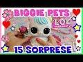 LOL SURPRISE BIGGIE PETS!! 15 SORPRESE tutte da scoprire! Unboxing by Lara e Babou