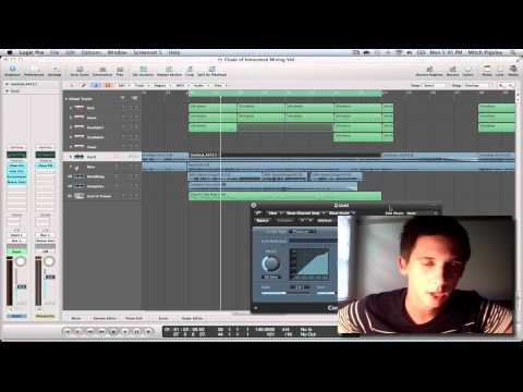 Logic Pro 9 Tutorial – Mixing Techniques (Part #1)