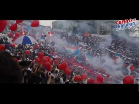 Recibimiento Nacional vs 1913 | Clausura 2012 - La Banda del Parque - Nacional