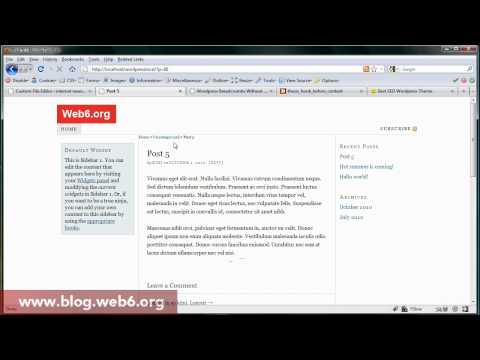 breadcrumbs thesis wordpress tutorial