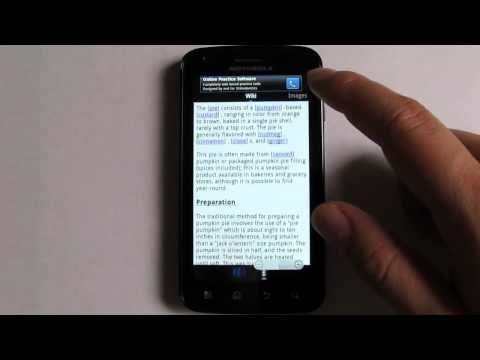 Video of Wikipedia Voice Search