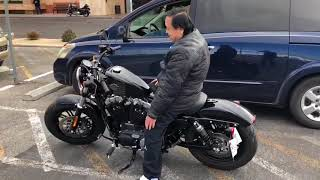 7. 2017 Harley Davidson sportster forty eight with Vance and Hines short shot Exhaust