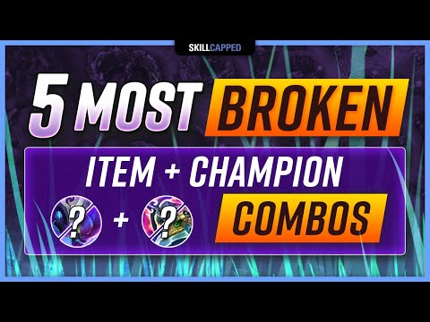 The 5 MOST BROKEN CHAMPION and ITEM Combos for Preseason! - Jungle Guide