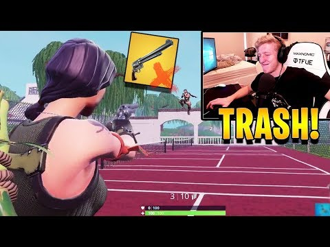 Tfue Explains Why The Six Shooter Should Be REMOVED From The Game! | Fortnite Highlights