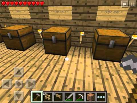 Let's play Minecraft Pocket Edition #10 - Занимаемся фермерскими делами часть 1