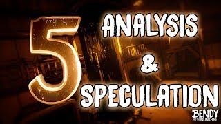 Bendy CHAPTER 5 Trailer Analysis, Nightmare Run NEWS!, FNaF Ultimate Custom Night RELEASE DATE!