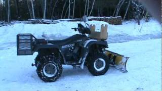 6. 2004 Arctic Cat 500 4x4 ATV