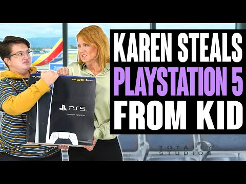 Karen STEALS PLAYSTATION 5 from KID. Does He Get the PS5 Back at the End or Instantly Regret It?