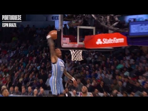 Video: As Heard Around the World: John Collins Off The Backboard Dunk To Himself