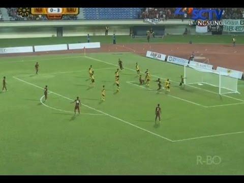 [HD] All Goal Highlight Timnas Indonesia U19 VS Brunei U21 - 11 Agustus 2014