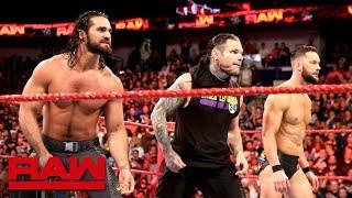 Video Jeff Hardy helps Seth Rollins and Finn Bálor push back The Miztourage: Raw, April 9, 2018 MP3, 3GP, MP4, WEBM, AVI, FLV Juli 2018