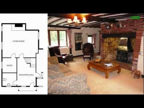 Luxury detached farmouse for sale, near Kenilworth, Warwickshire