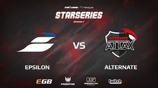 Epsilon vs Alternate, game 2