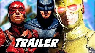 Justice League The Flash Scene and Huge DC Comics Changes Explained