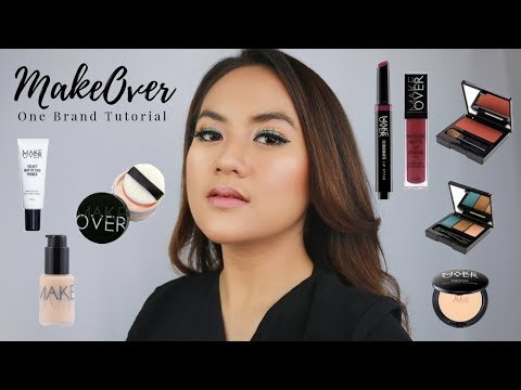 ONE BRAND MAKEUP TUTORIAL MAKEOVER ON ACNE PRONE SKIN