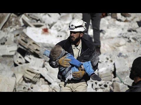 Συρία: Κλιμακώνονται οι αεροπορικοί βομβαρδισμοί στο Χαλέπι