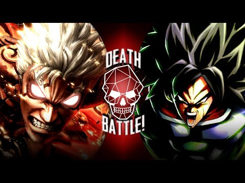 Fan Made Death Battle Trailer | Asura VS Broly (Asura's Wrath VS Dragon Ball) REMAKE